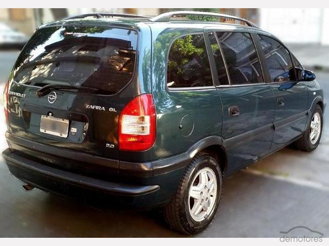 2004 Chevrolet Zafira Gl 20 8v Dm Ad 4170252 Demotores
